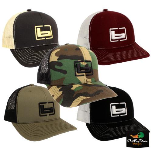 68afdef3b Banded Side Logo Trucker Cap