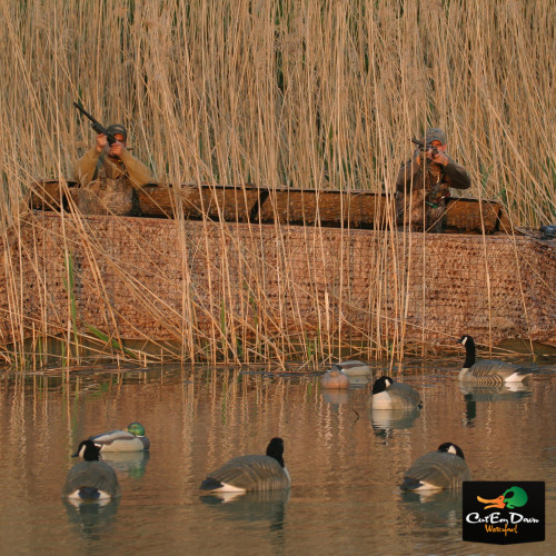 AVERY GHG QUICK SET BOAT BLIND COMBO KIT 17 TO 19 FT BOAT KW-1 KILLER WEED CAMO