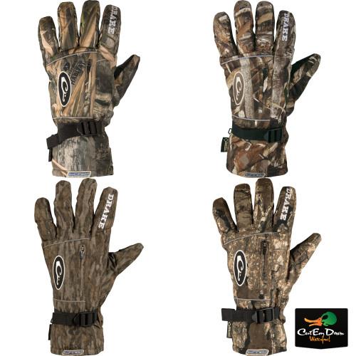 Drake Waterfowl LST Refuge Gore-Tex Glove Blades Habitat XLarge