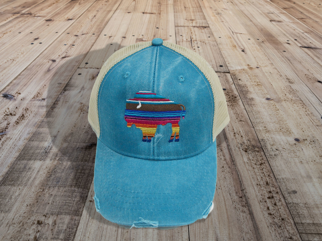 Buffalo Serape Hat