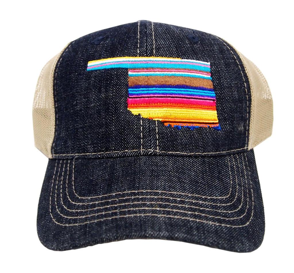 Oklahoma Serape Hat