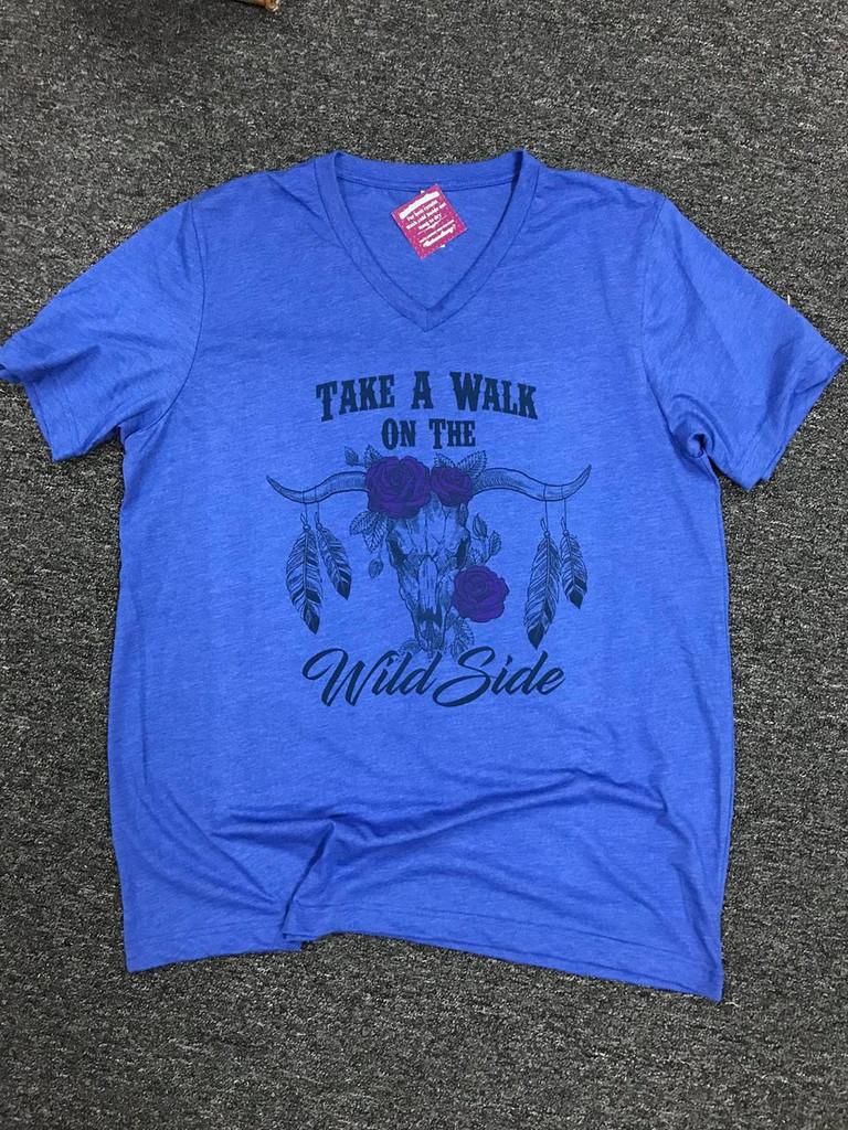 Take a Walk on the Wild Side V-Neck