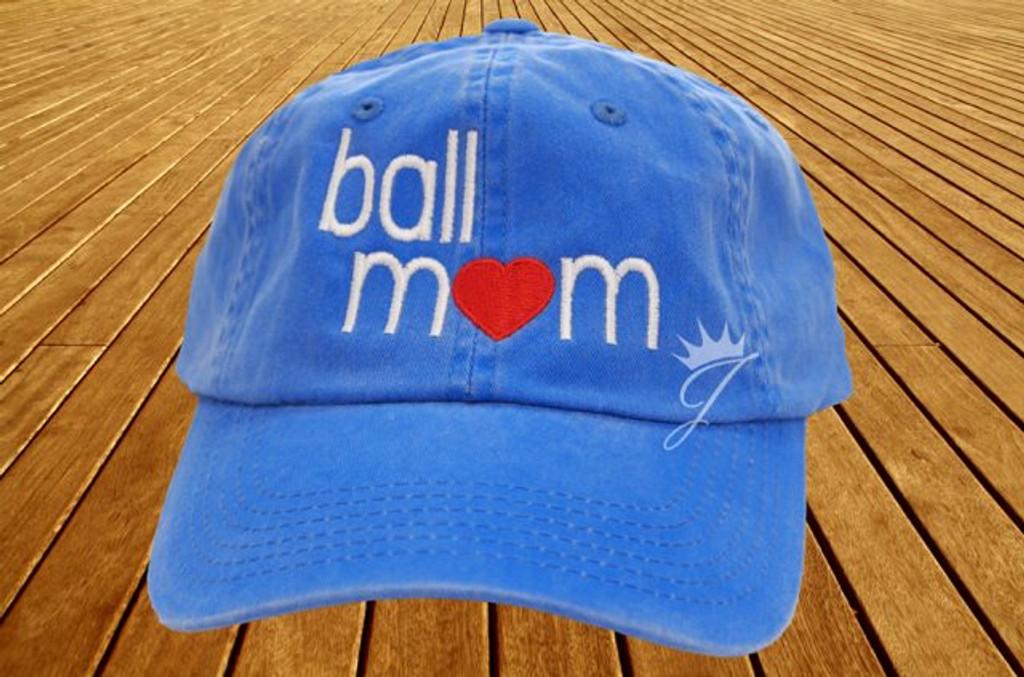 Ball Mom Dad Hat