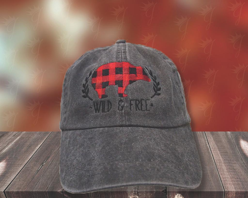 Wild & Free Dad Hat