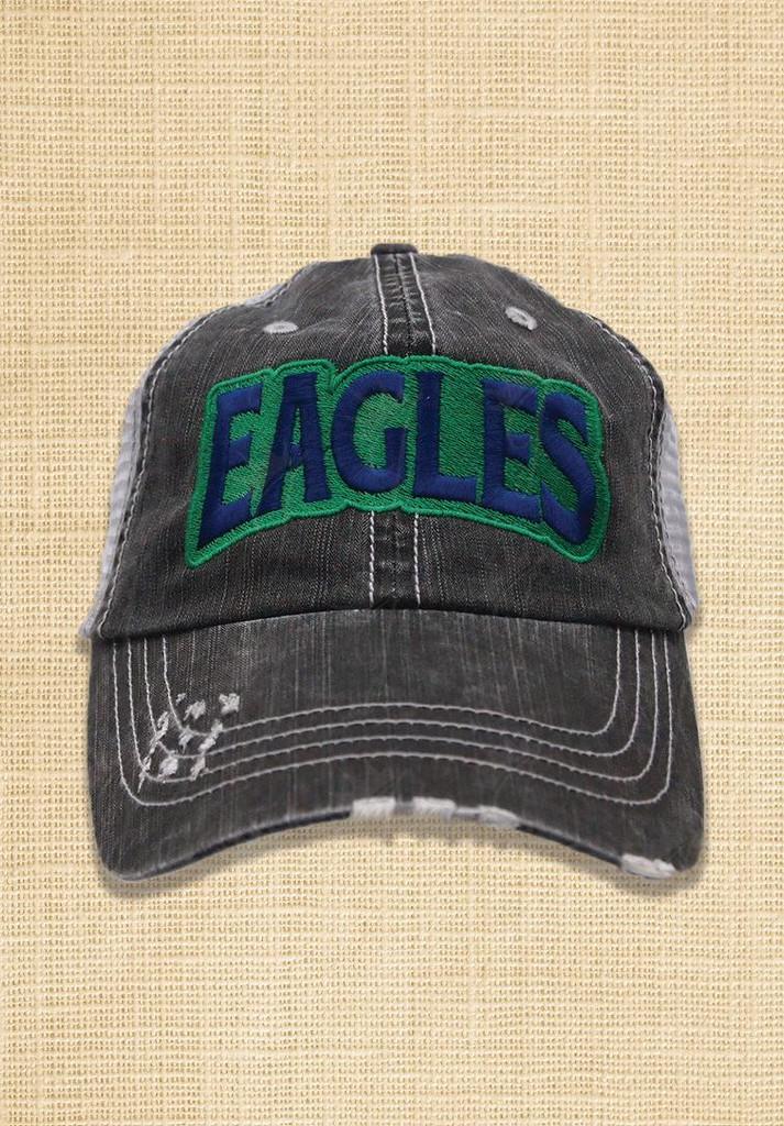 Eagles Block Trucker