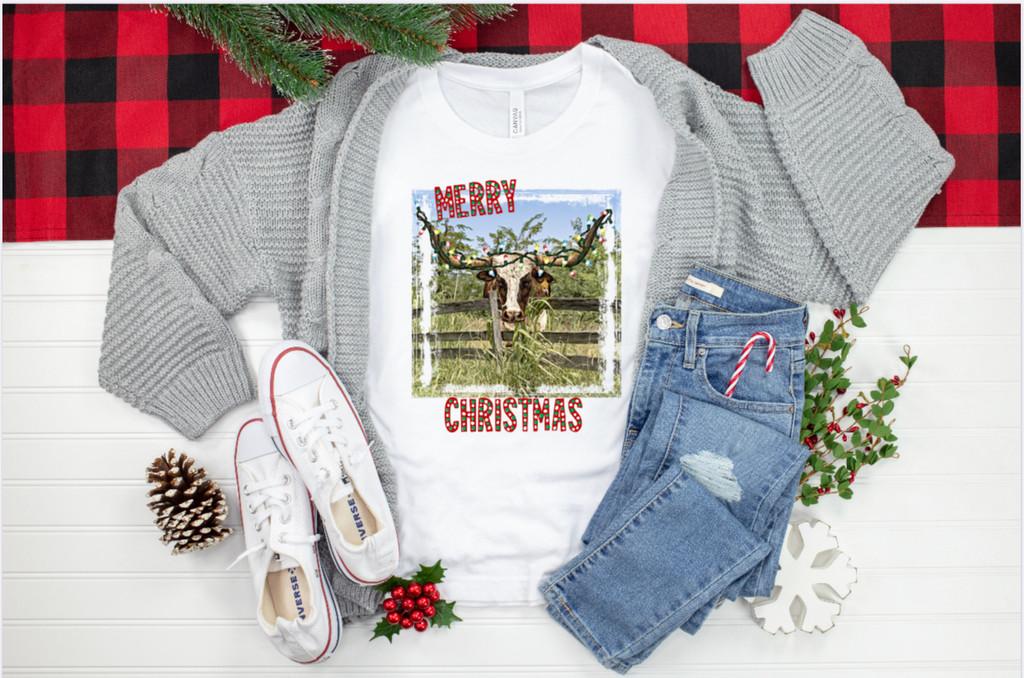 Longhorn Merry Christmas