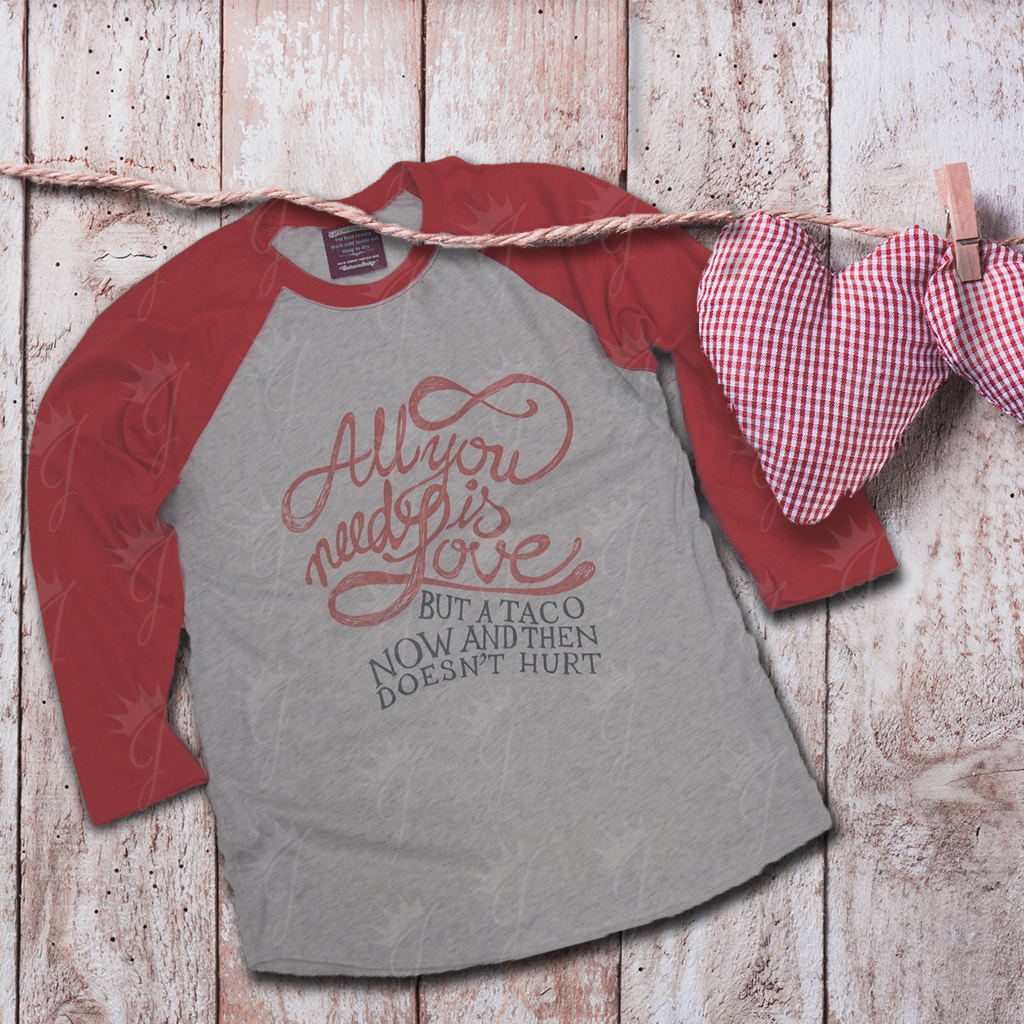 All You Need Is Love Raglan