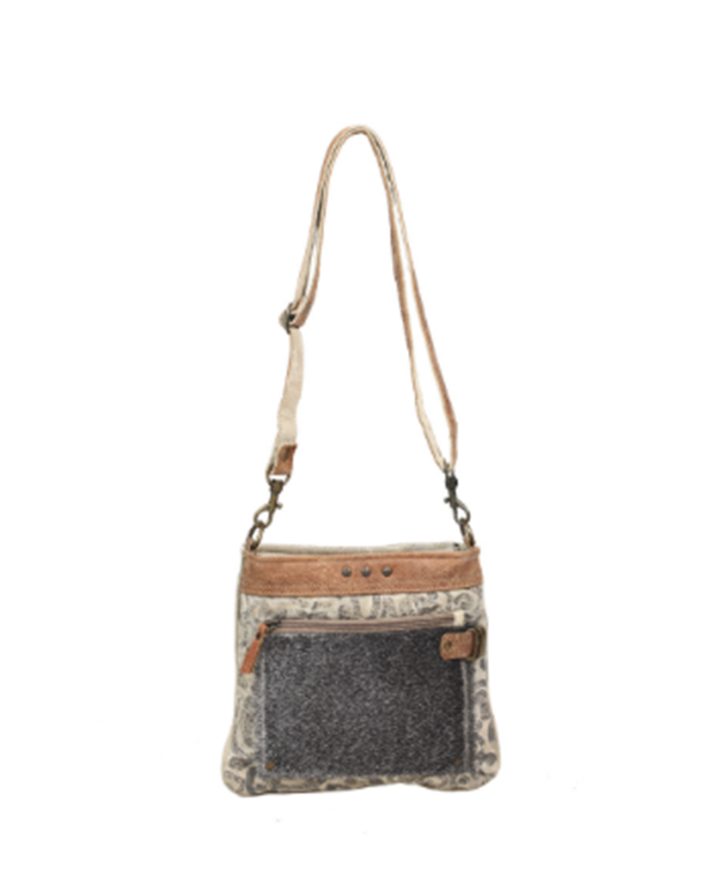 Hide Floral Print Small Cross-Body