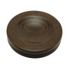 Dark Oak Satin Piano Caster Cups