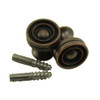 Antique Bronze Piano Desk Knobs with Wood Screws