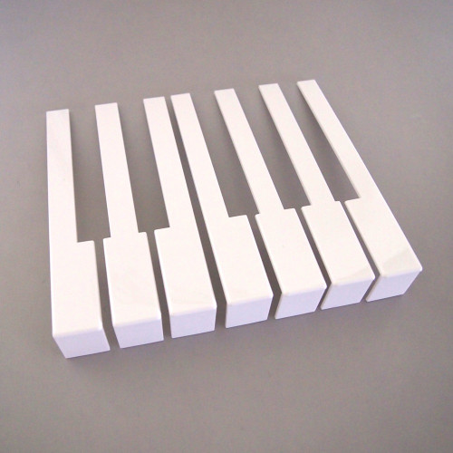 Piano Keytops with Fronts