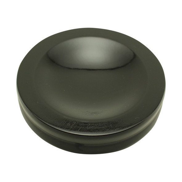 Ebony Satin Piano Caster Cups