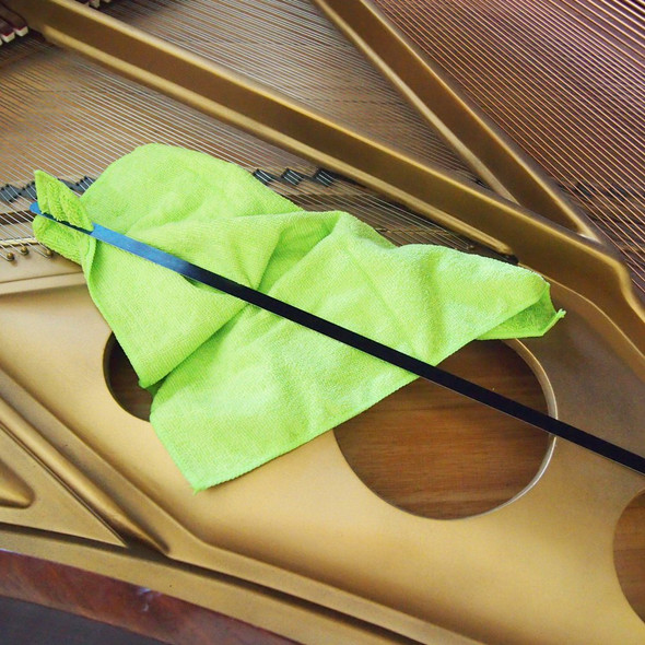 Grand Piano Soundboard Cleaner with Microfiber Cloth