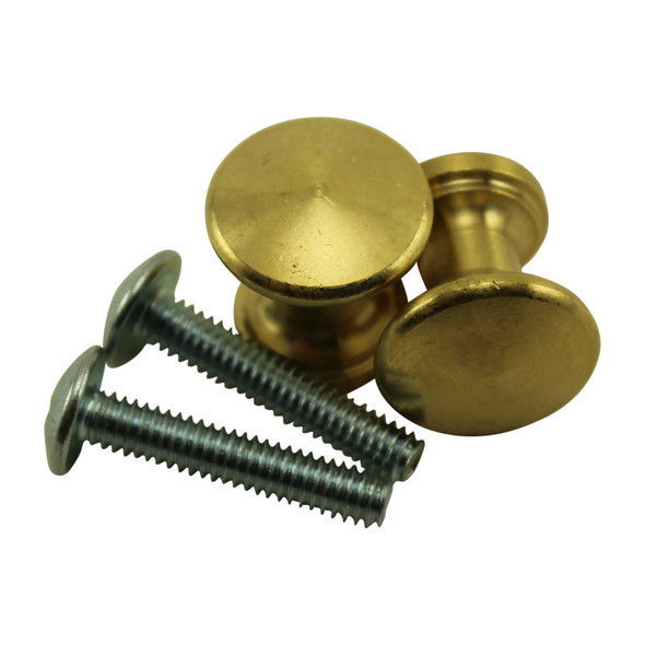 Bright Brass Piano Desk Knobs