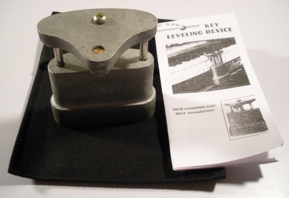 Piano Key Leveling Device