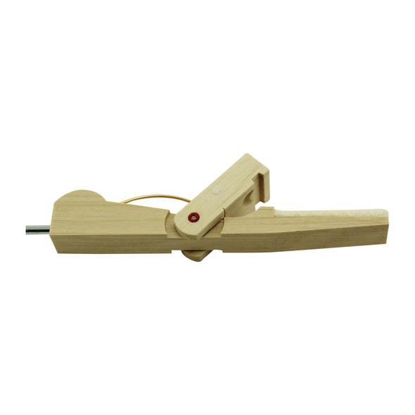 Compact Piano Damper Lever with Flange