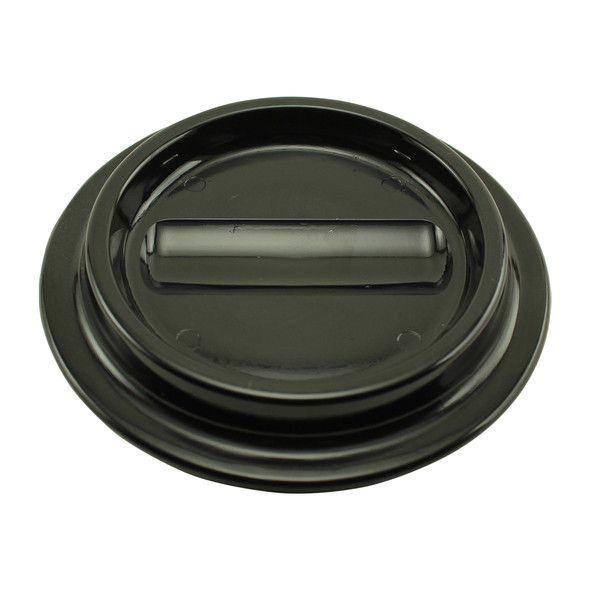 Black Lucite Piano Caster Cups