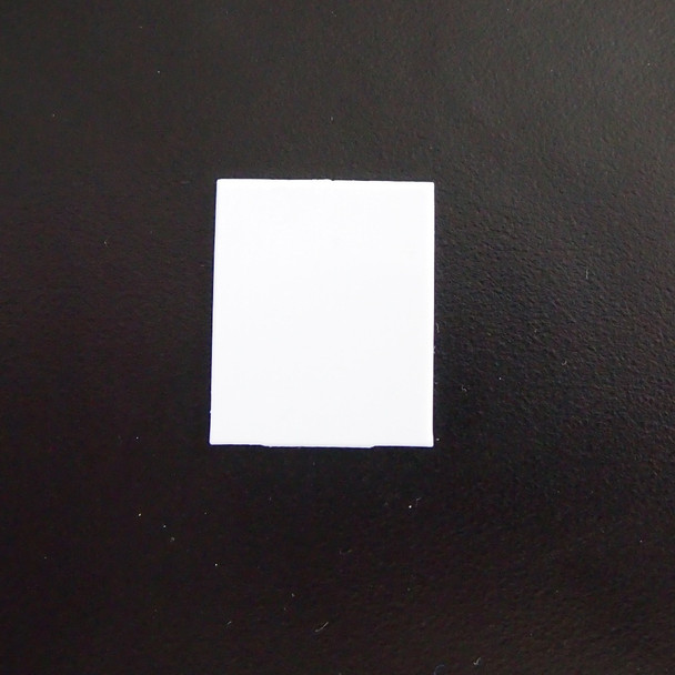 White Piano Key Fronts