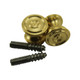 Fancy Brass Piano Desk Knobs