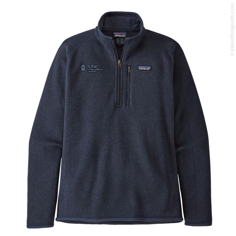 Custom Patagonia Better Sweater Fleece 1/4 Zip - Navy