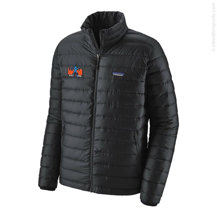 Custom Patagonia Down Jackets - Black