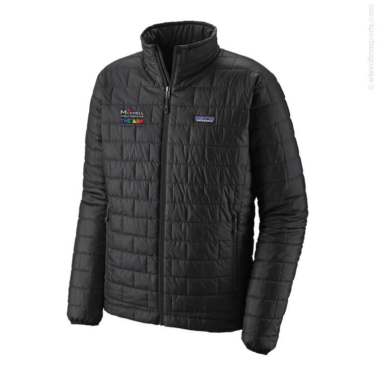 Custom Patagonia Nano Puff Jackets - Black