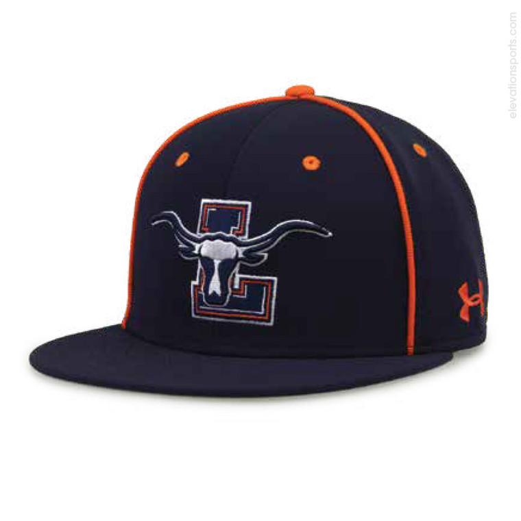 Under Armour Resistor Custom Baseball Hat with Piping