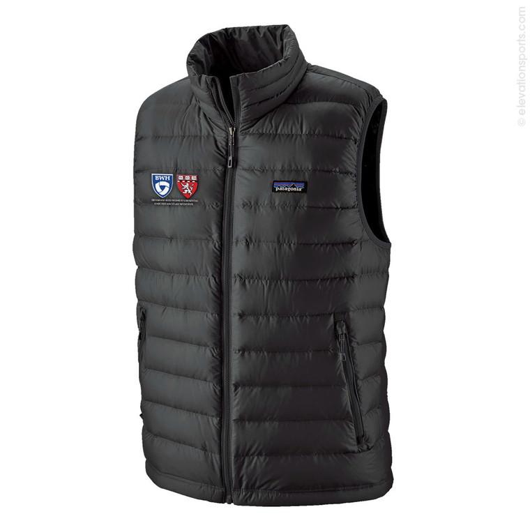 Custom Patagonia Down Vests - Black