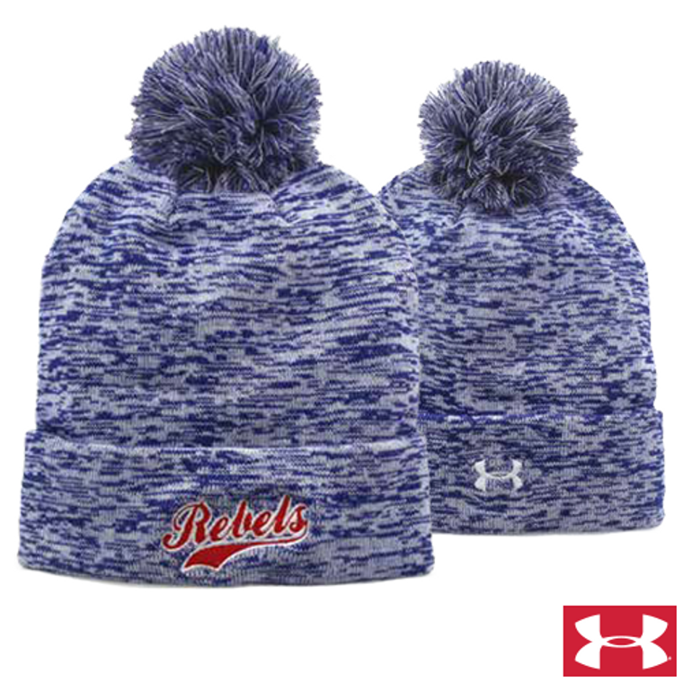 Custom Under Armour Heather Knit Beanie