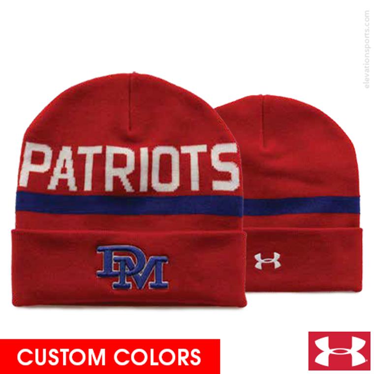 Custom Under Armour Roll Up Winter Hats
