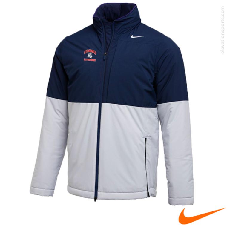 Custom Nike Shield Heavyweight Jacket - Navy