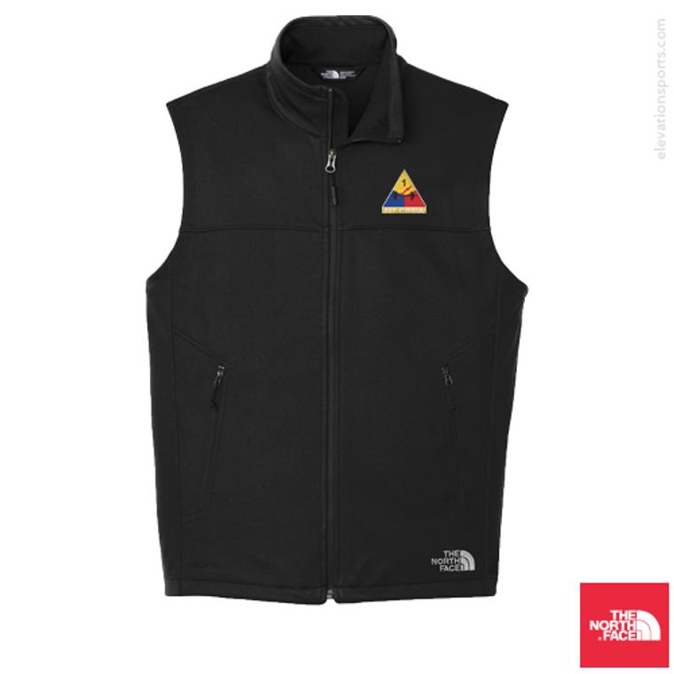 Custom North Face Ridgeline Soft-Shell Vests - Black
