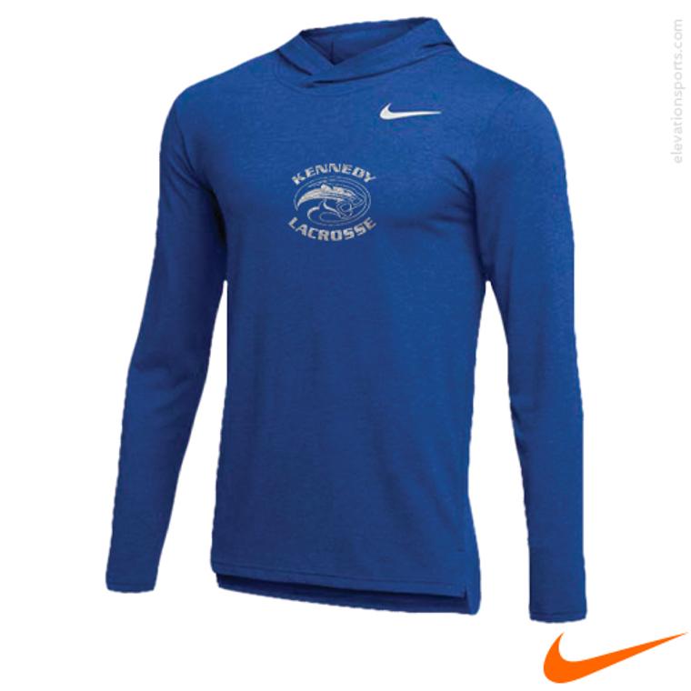 Nike Hyper Dry Long Sleeve Hooded Shirt