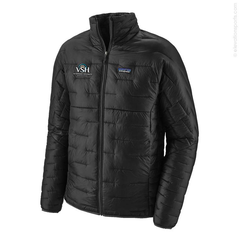 Custom Patagonia Micro Puff Jacket - Black