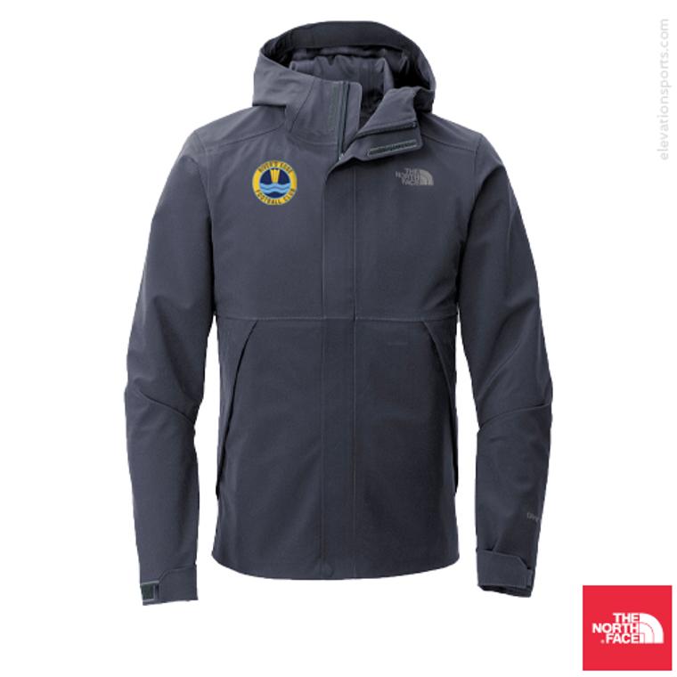 Custom North Face Apex Dryvent Waterproof Jacket - Urban navy