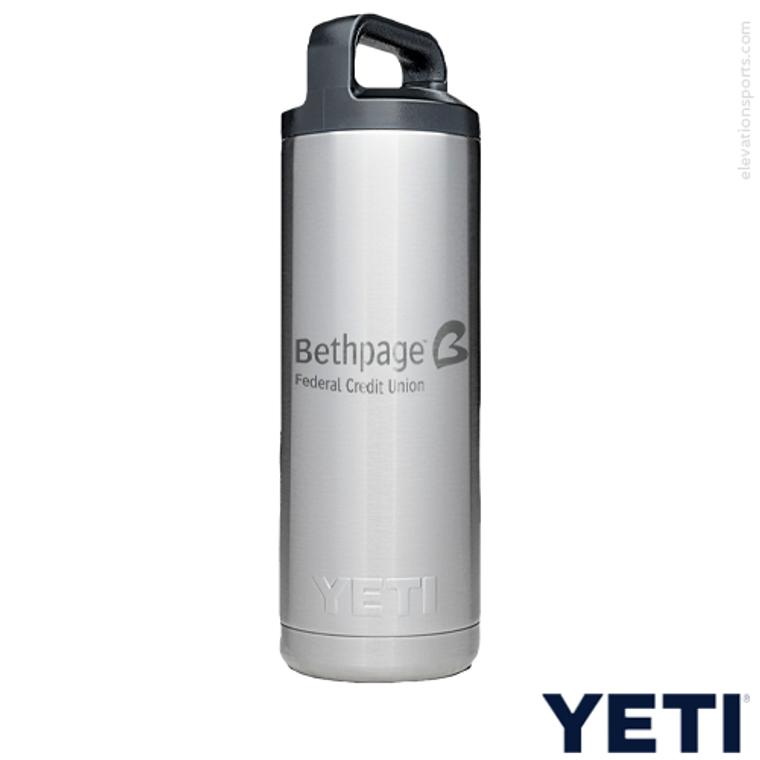 Custom YETI Water Bottle - 18 oz.
