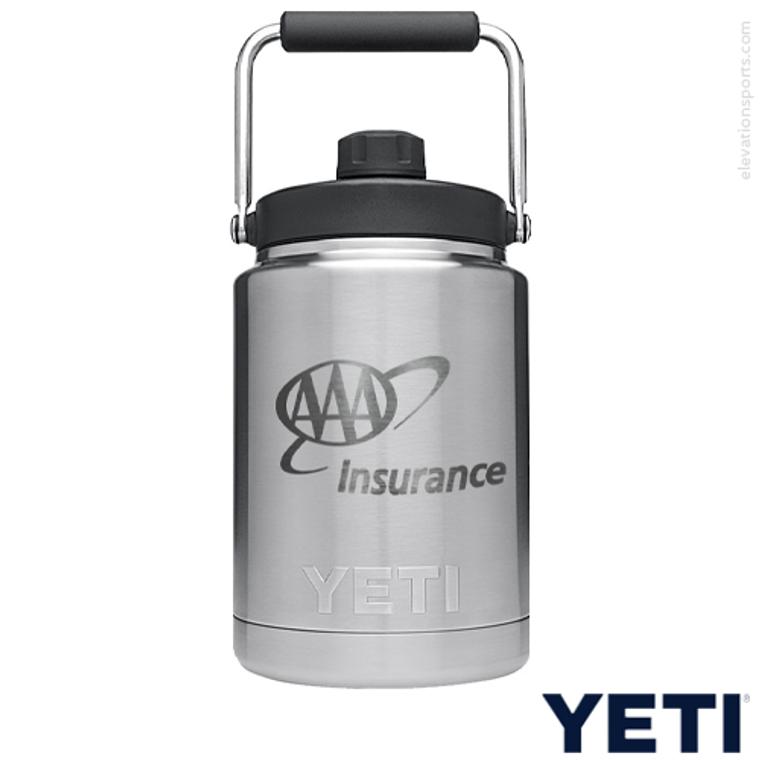Custom YETI 1/2 Gallon Water Jugs - Silver