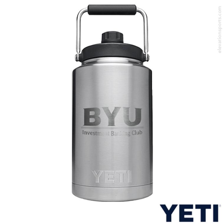 Custom YETI Gallon Water Jugs - Silver