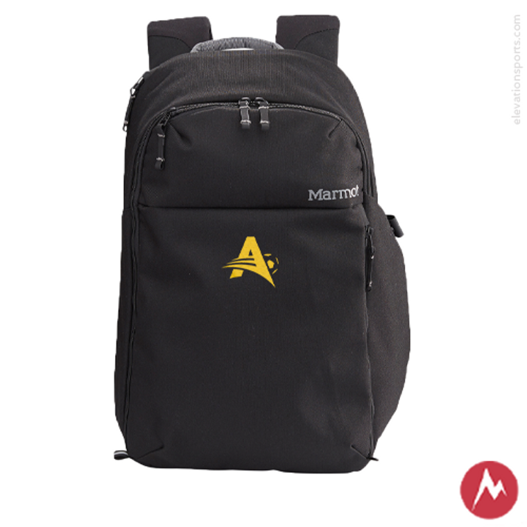 Custom Marmot Ashby Backpack - Black
