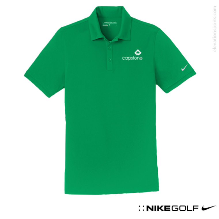 Custom Nike Golf Modern Fit Polo Shirts - Self Fabric Collar