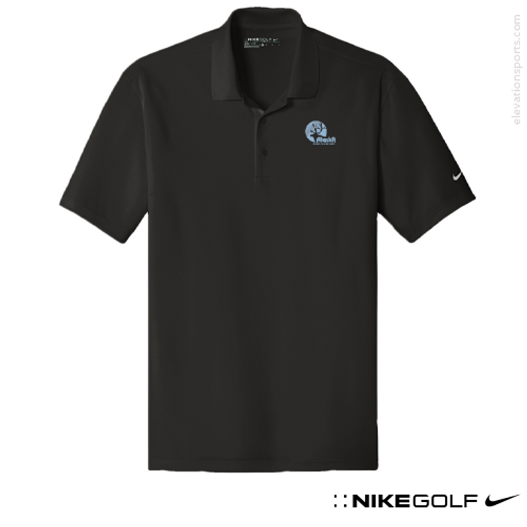 Nike Golf Modern Fit Custom Polo Shirts - Flat Knit Collar