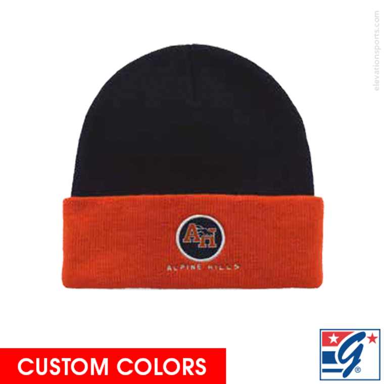 The Game Two Tone Custom Winter Ski Hats