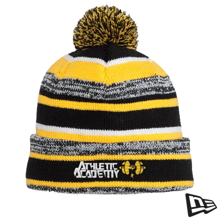 Custom New Era Sideline Ski Hat with Pom