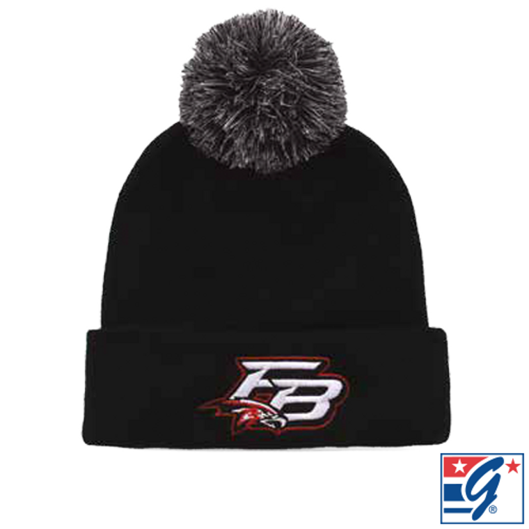 The Game Roll Up Custom Beanie with Pom