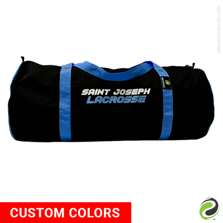 Elevation Custom Barrel Lacrosse Gear Bags - 40 Inch - Side 1