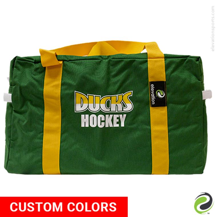 Elevation Custom Team Duffel Bags - Side 1