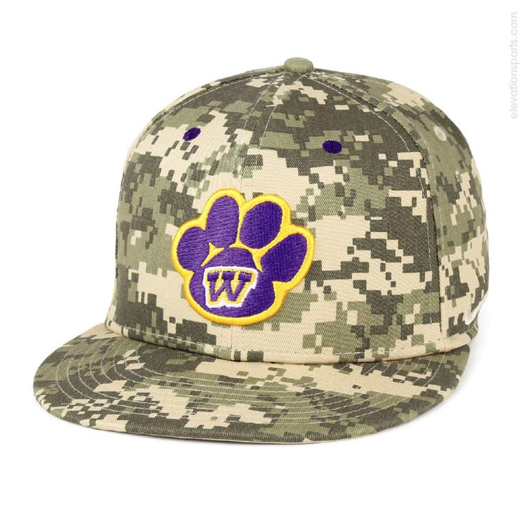 Custom Nike True Baseball Hats - Camouflage