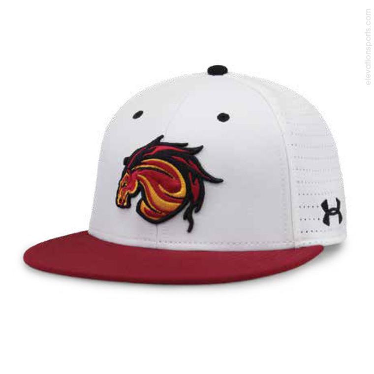 Under Armour Resistor Perforated Custom Baseball Hats