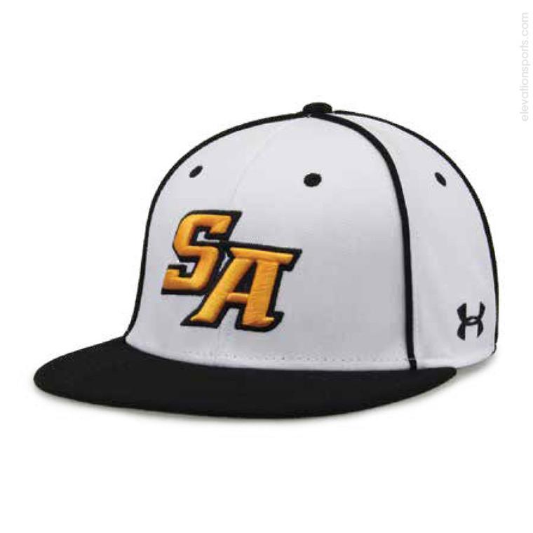 Custom Under Armour Baseball Hats - Armour Choice with Piping