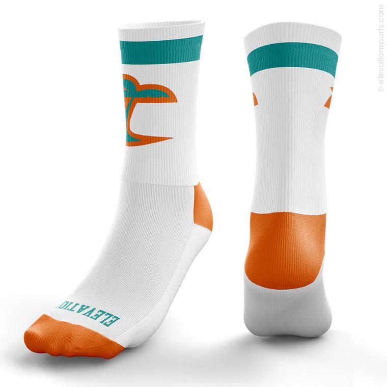Elevation Custom Socks - 1 Stripe